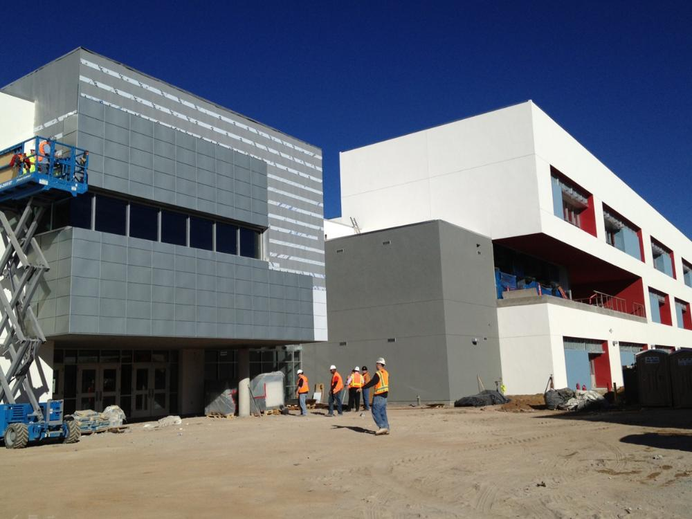New Library/Science/Math Building